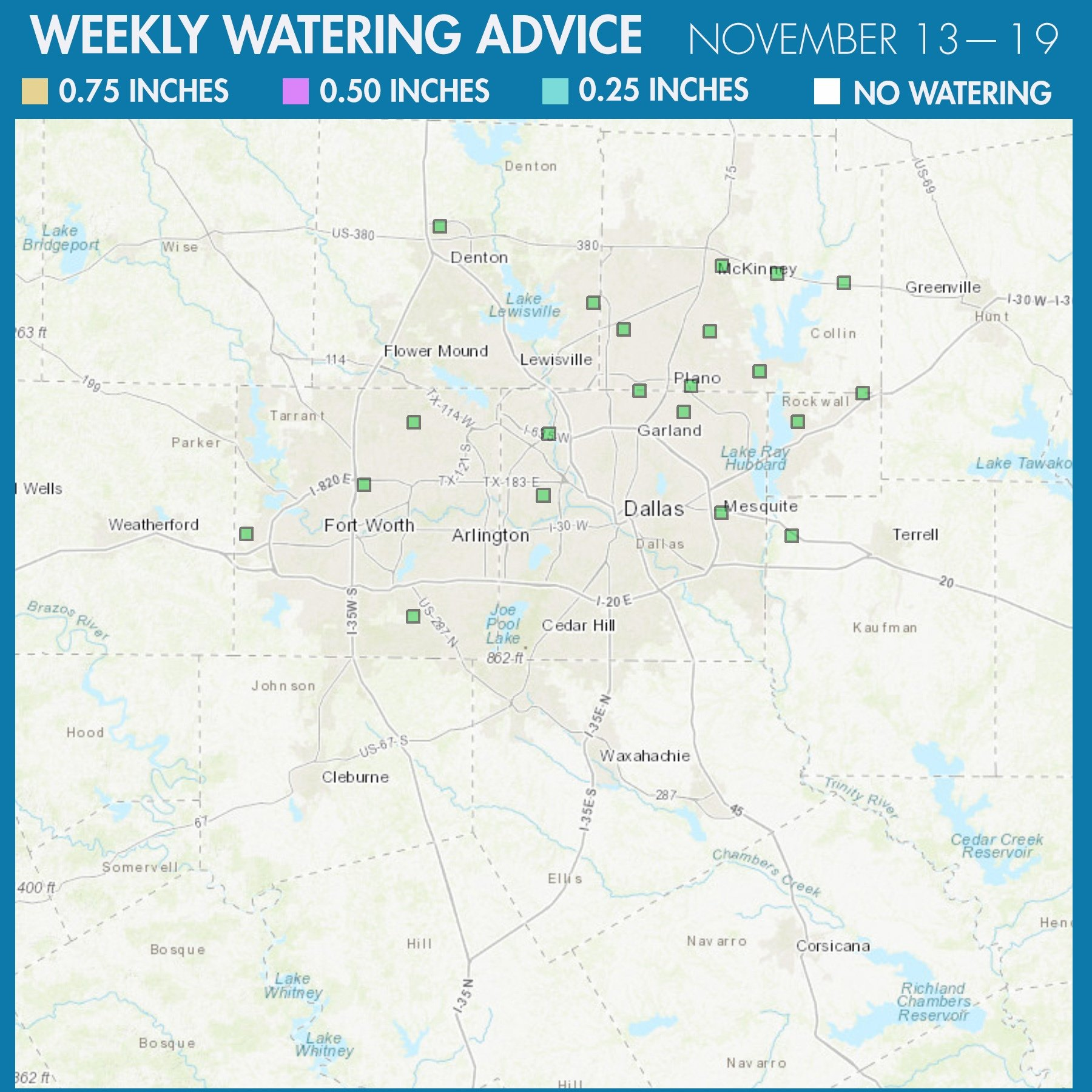 20171113 Water Advice Map