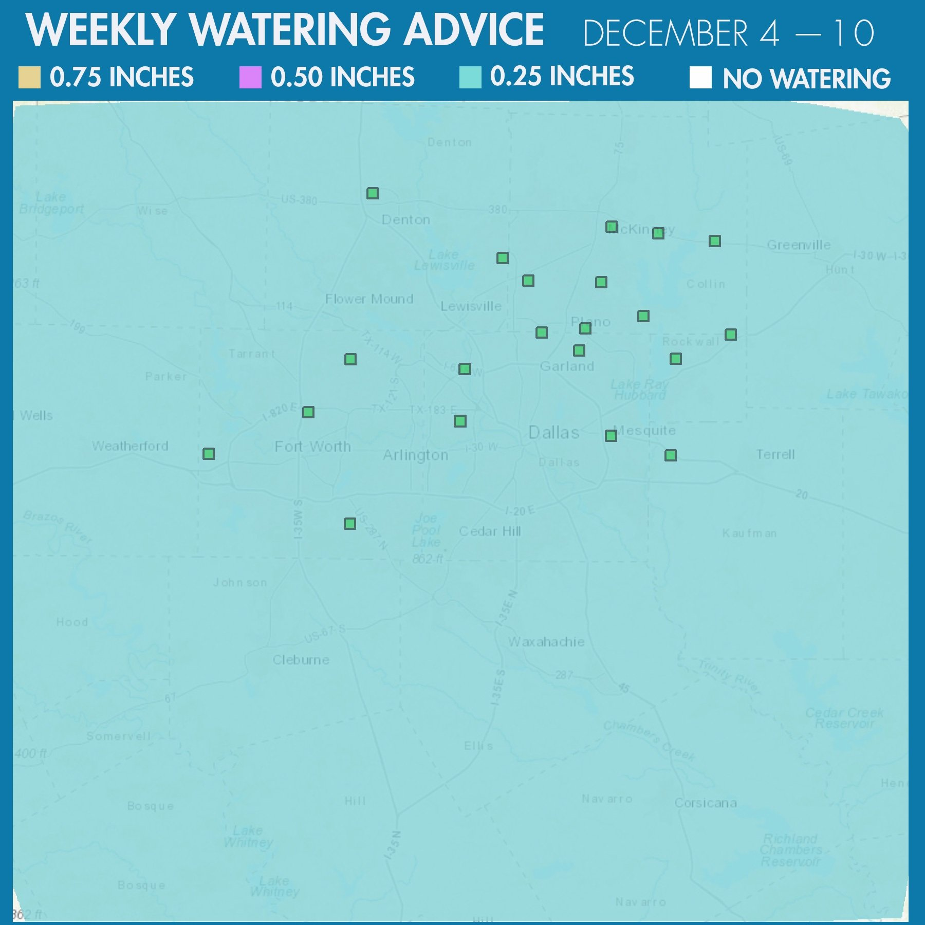 20171204 Weekly Water Advice
